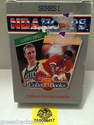 (TAS006417) - NBA Hoops Series I - Collect A Books, , Books, NBA, The Angry Spider Vintage Toys & Collectibles Store