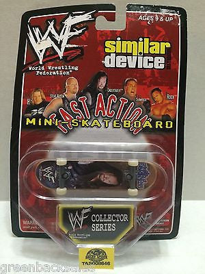 (TAS008646) - WWE Similar Device Fast Action Mini Skateboard - The Undertaker, , Action Figure, Wrestling, The Angry Spider Vintage Toys & Collectibles Store
