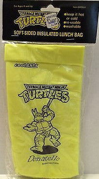 (TAS003567) - TMNT - Teenage Mutant Ninja Turtles Soft-Sided Insulated Lunch Bag, , Lunch Box, TMNT, The Angry Spider Vintage Toys & Collectibles Store