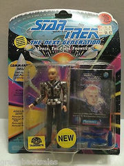 (TAS008579) - Star Trek The Next Generation Figure - Commander Sela, , Action Figure, Star Trek, The Angry Spider Vintage Toys & Collectibles Store