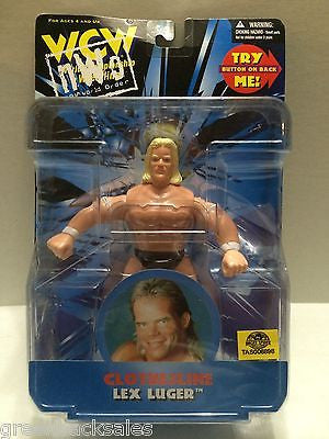 (TAS006898) - WWE WWF WCW nWo Wrestling Figure - Clothesline Lex Luger, , Action Figure, Wrestling, The Angry Spider Vintage Toys & Collectibles Store