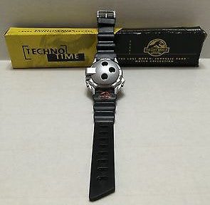 "(TAS010240) - 1997 Juassic Park Techno Time Dinosaur Watch ""The Lost World"", , Watches, Clocks, Timepieces, n/a, The Angry Spider Vintage Toys & Collectibles Store  - 1"