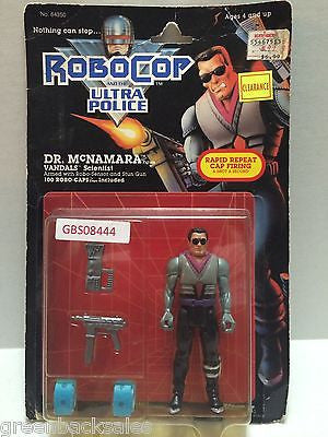 (TAS031561) - Kenner  RoboCop and the Ultra Police Figure - Dr. McNamara, , Action Figure, Kenner, The Angry Spider Vintage Toys & Collectibles Store