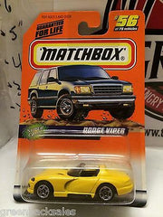 (TAS031534) - Matchbox Toy Car - Dodge Viper, , Cars, Matchbox, The Angry Spider Vintage Toys & Collectibles Store