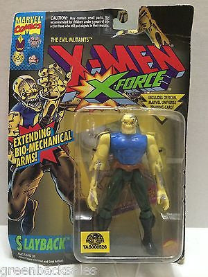 (TAS008526) - The Uncanny X-Men X-Force Figure - Slayback, , Action Figure, X-Men, The Angry Spider Vintage Toys & Collectibles Store