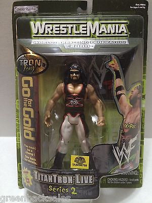 (TAS006758) - 2000 Jakks DX WWF WWE WrestleMania Series 2 Figure - X-Pac, , Action Figure, Wrestling, The Angry Spider Vintage Toys & Collectibles Store