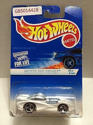 (TAS030988) - Hot Wheels Splittin' Image II White Ice Series 3/4, , Cars, Hot Wheels, The Angry Spider Vintage Toys & Collectibles Store