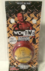 (TAS005045) - WWE WWF WCW Racing Champions Wrestling Goldberg Yo Yo, , Yo-Yo, Wrestling, The Angry Spider Vintage Toys & Collectibles Store