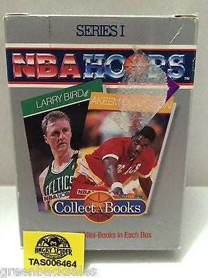 (TAS006464) - NBA Hoops Series I - Collect A Books, , Books, NBA, The Angry Spider Vintage Toys & Collectibles Store