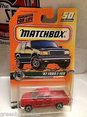 (TAS031521) - Matchbox Toy Car - '97 Ford F-150, , Cars, Matchbox, The Angry Spider Vintage Toys & Collectibles Store