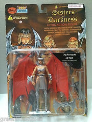 (TAS031586) - Skybolt Sisters of Darkness Letha Action Figure - Platinum Letha, , Action Figure, n/a, The Angry Spider Vintage Toys & Collectibles Store