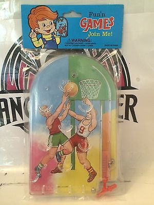 "(TAS030502) - Fun N' Games ""Join Me"" Pinball Game - Basketball Players, , Game, Varies, The Angry Spider Vintage Toys & Collectibles Store"
