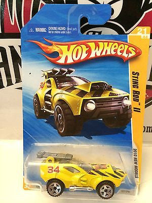 (TAS004443) - Hot Wheels '10 New Models - Sting Rod II 21/44, , Cars, Hot Wheels, The Angry Spider Vintage Toys & Collectibles Store