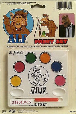 (TAS031298) - 1987 Alien Productions - ALF WaterColor Paint Set, , Paint Set, Alien Productions, The Angry Spider Vintage Toys & Collectibles Store