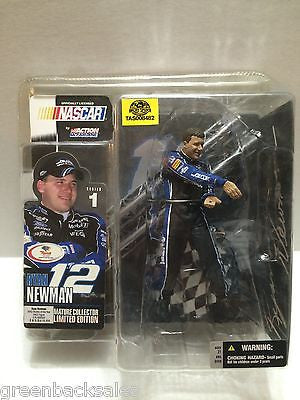 (TAS008482) - McFarlane Sports Action Figure - Nascar #12 Ryan Newman Alltel, , Action Figure, n/a, The Angry Spider Vintage Toys & Collectibles Store