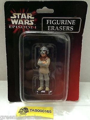 (TAS000165) - Star Wars Episode I Figurine Erasers, , Erasers, Star Wars, The Angry Spider Vintage Toys & Collectibles Store