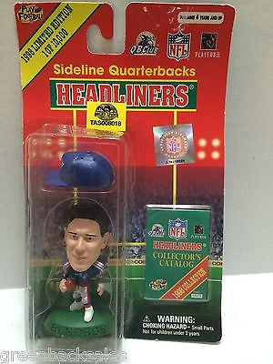 (TAS008018) - 1998 NFL Headliners Sports Figure - Drew Bledsoe, , Action Figure, NFL, The Angry Spider Vintage Toys & Collectibles Store