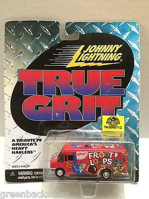 (TAS008712) - Johnny Lightning True Grit - Fruit Loops, , Trucks & Cars, Johnny Lightning, The Angry Spider Vintage Toys & Collectibles Store