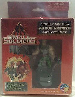 (TAS000051) - Small Soldiers - Brick Bazooka Action Stamper Activity Set, , Stampers, n/a, The Angry Spider Vintage Toys & Collectibles Store