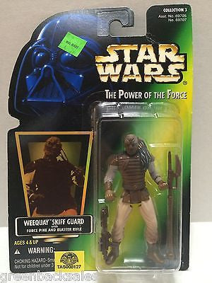 (TAS008127) - Hasbro Star Wars Power of the Force Figure - Weequay Skiff Guard, , Action Figure, Star Wars, The Angry Spider Vintage Toys & Collectibles Store