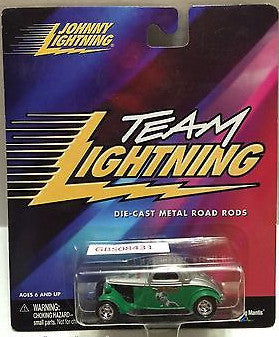 (TAS031550) - Playing Mantis Johnny Lightning Hot Rods Car - Team Lightning, , Trucks & Cars, Johnny Lightning, The Angry Spider Vintage Toys & Collectibles Store