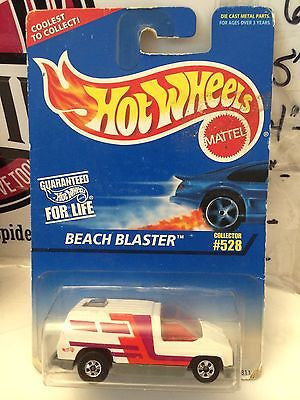 (TAS004541) - Hot Wheels Beach Blaster - Collector #528, , Cars, Hot Wheels, The Angry Spider Vintage Toys & Collectibles Store