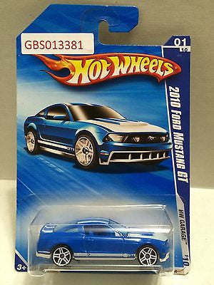 (TAS030923) - Hot Wheels '10 Ford Mustang GT HW Garage 01/10, , Cars, Hot Wheels, The Angry Spider Vintage Toys & Collectibles Store