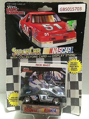 (TAS030663) - Racing Champions StockCar Nascar - Rick Mast #1, , Trucks & Cars, Racing Champions, The Angry Spider Vintage Toys & Collectibles Store