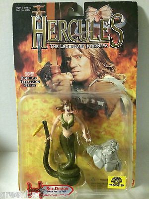 (TAS003139) - 1996 Toy Biz Hercules The Legendary Journeys Figure She-Demon, , Action Figure, Toy Biz, The Angry Spider Vintage Toys & Collectibles Store