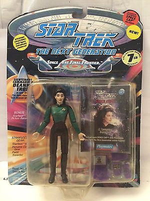 (TAS001041) - Playmates Star Trek The Next Generation - Lt Commander Deanna Troi, , Action Figure, Star Trek, The Angry Spider Vintage Toys & Collectibles Store