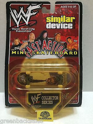 (TAS008206) - WWE Similar Device Fast Action Mini Skateboard Series - Mankind, , Action Figure, Wrestling, The Angry Spider Vintage Toys & Collectibles Store