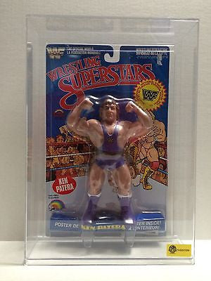 "(TAS001069) - WWE WWF Wrestling Superstars LJN 8"" Figure - Ken Patera w/Case, , Action Figure, Wrestling, The Angry Spider Vintage Toys & Collectibles Store"