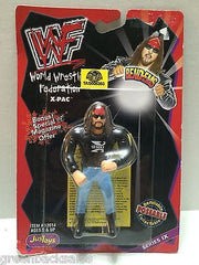 (TAS008383) - WWF WWE WCW nWo Wrestling JusToys Bend-Ems Action Figure - X-Pac, , Action Figure, Wrestling, The Angry Spider Vintage Toys & Collectibles Store