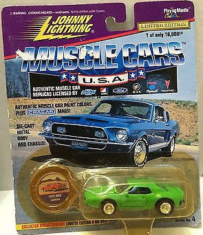 (TAS006843) - Johnny Lightning Muscle Cars - 1972 AMC Javelin, , Trucks & Cars, Johnny Lightning, The Angry Spider Vintage Toys & Collectibles Store