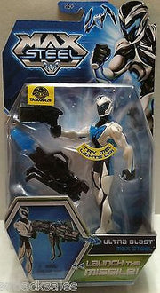 (TAS009426) - Max Steel - Ultra Blast Max Steel, , Action Figure, n/a, The Angry Spider Vintage Toys & Collectibles Store