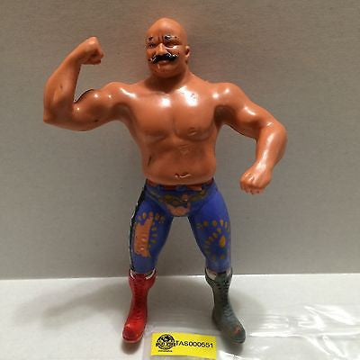 "(TAS000551) - WWE WWF WCW Wrestling LJN 8"" Action Figure - The Iron Sheik, , Sports, WWF, The Angry Spider Vintage Toys & Collectibles Store"