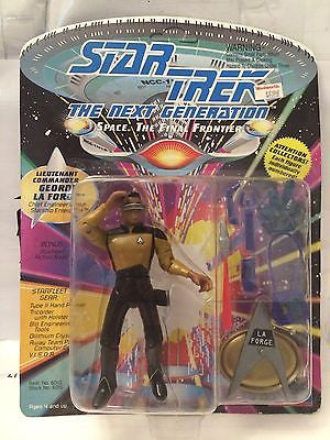 (TAS001060) - Playmates Star Trek Next Generation - Lt Commander Geordi La Forge, , Action Figure, Star Trek, The Angry Spider Vintage Toys & Collectibles Store