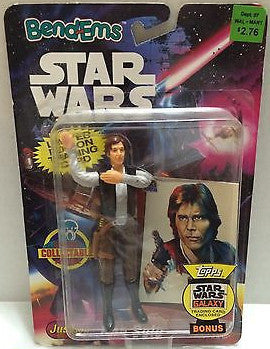 (TAS000614) - Star Wars Bend-Ems JusToys - Han Solo, , Action Figure, Star Wars, The Angry Spider Vintage Toys & Collectibles Store