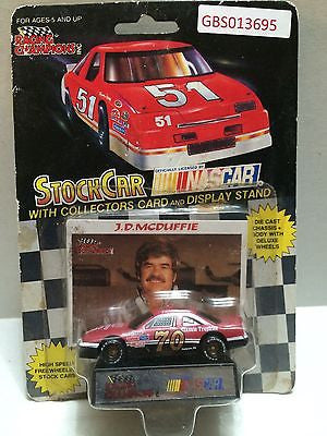 (TAS030634) - Racing Champions StockCar Nascar - J.D. McDuffie #70, , Trucks & Cars, Racing Champions, The Angry Spider Vintage Toys & Collectibles Store