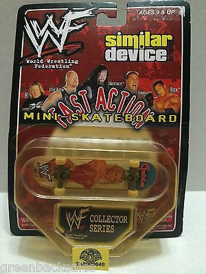 (TAS008648) - WWE WWF Fast Action Mini Skateboard Collectors Series - Sable, , Action Figure, Wrestling, The Angry Spider Vintage Toys & Collectibles Store