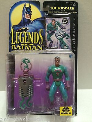 (TAS008155) - Legends of Batman Figure - The Riddler w/ Question Mark Launcher, , Action Figure, Batman, The Angry Spider Vintage Toys & Collectibles Store