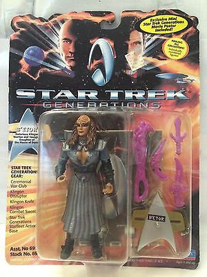 (TAS001157) - Playmates Star Trek Generations - B'Etor, , Action Figure, Star Trek, The Angry Spider Vintage Toys & Collectibles Store