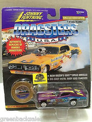 (TAS008731) - Johnny Lightning Dragsters U.S.A. Die-Cast Car - Gene Snow Snowman, , Trucks & Cars, Johnny Lightning, The Angry Spider Vintage Toys & Collectibles Store