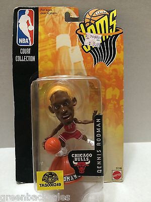 (TAS008249) - Mattel Basketball NBA Jams Figure - Dennis Rodman #91 Bulls, , Action Figure, NBA, The Angry Spider Vintage Toys & Collectibles Store