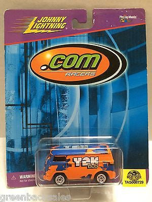 "(TAS008729) - Johnny Lightning Die-Cast "".Com Racers"" Race Cars, , Trucks & Cars, Johnny Lightning, The Angry Spider Vintage Toys & Collectibles Store"
