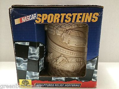 (TAS006429) - Nascar Sportsteins - Sculptured Relief Hoffbrau, , Action Figure, Nascar, The Angry Spider Vintage Toys & Collectibles Store