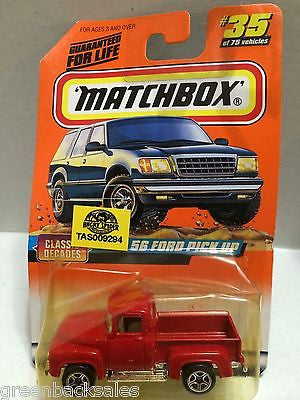 (TAS009294) - Matchbox Cars - '56 Ford Pick-Up, , Cars, Matchbox, The Angry Spider Vintage Toys & Collectibles Store