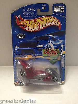 (TAS010247) - 2000 Mattel Hot Wheels Die Cast Replica - Fright Bike, , Trucks & Cars, Hot Wheels, The Angry Spider Vintage Toys & Collectibles Store  - 1