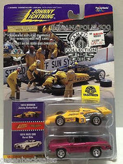 (TAS006929) - Johnny Lightning Champion Car - Johnny Rutherford & Hurst Olds, , Trucks & Cars, Johnny Lightning, The Angry Spider Vintage Toys & Collectibles Store