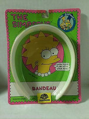 (TAS004206) - 1990 The Simpsons Bandeau Lisa Simpson, , Clothing & Accessories, The Simpsons, The Angry Spider Vintage Toys & Collectibles Store